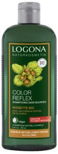 Shampoing color reflex Noisette bio Logona