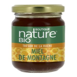 Miel de montagne bio Boutique Nature
