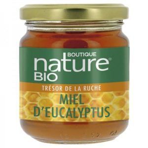 Miel d'eucalyptus bio Boutique Nature