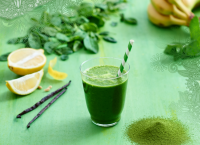 Smoothie The vert Matcha Citron