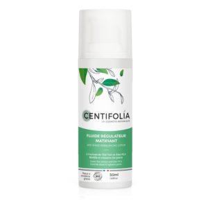 Fluide régulateur matifiant bio Centifolia
