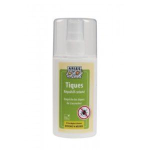 Spray répulsif cutané anti-tiques Aries