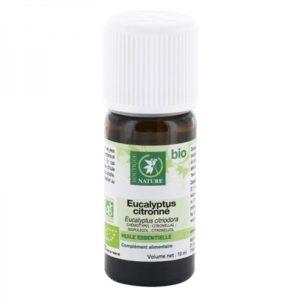 Huile essentielle d'Eucalyptus citronné bio Boutique Nature