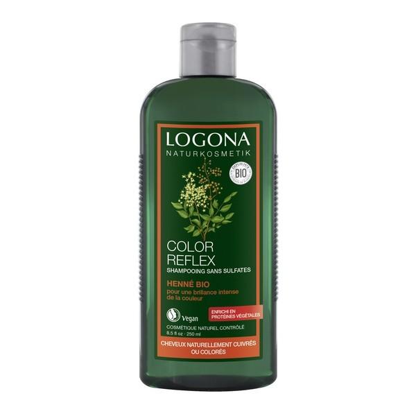Shampoing colorant Logona Henné