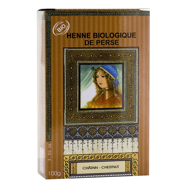 Henné bio Chatain Nomade Palize
