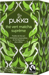 thé vert matcha suprême Pukka