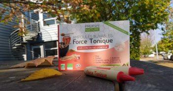 Test Produit Force Tonique de Propos Nature