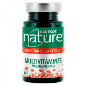 Multivitamines et minéraux Boutique Nature