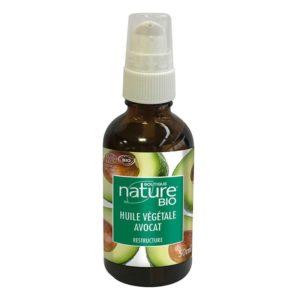 huile vegetale avocat bio