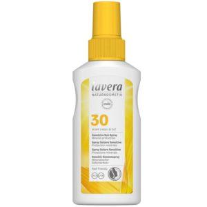 Spray solaire sensitive bio SPF30 - Lavera  - Soins solaires