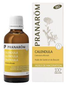 huile végétale de calendula