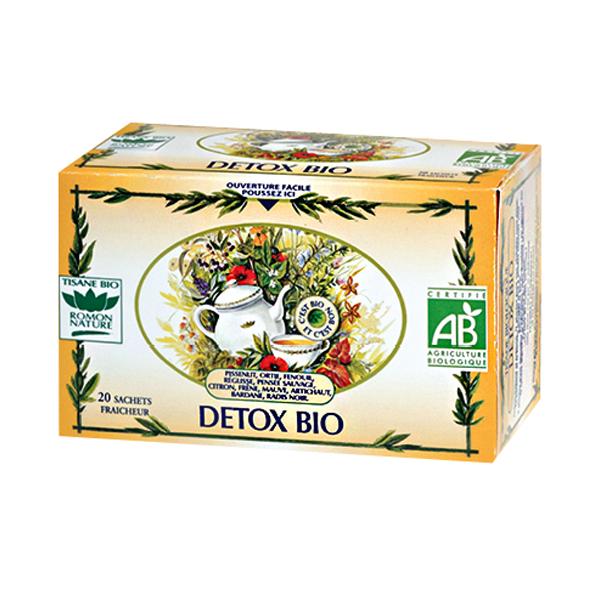 tisane detox bio - detox - romon nature
