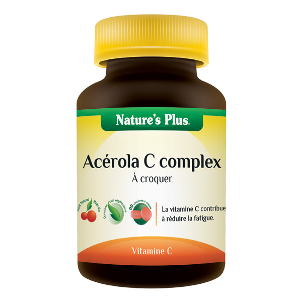 Acérola C Complex 250 mg à croquer