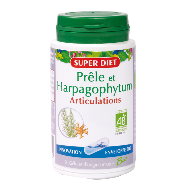Prêle Harpagophytum bio gélules