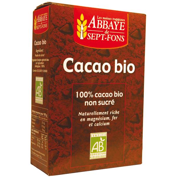 cacao 100 pur sans sucre ajout bio r f 04220017. Black Bedroom Furniture Sets. Home Design Ideas