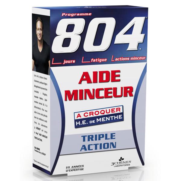 804 Aide Minceur Triple action