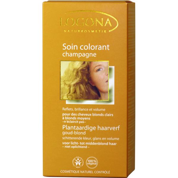 Soin colorant végétal bio Blé doré