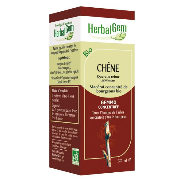 Chêne Bio - 50 ml - Herbalgem