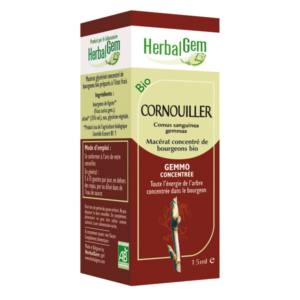 Cornouiller Bio - 15 ml - Herbalgem