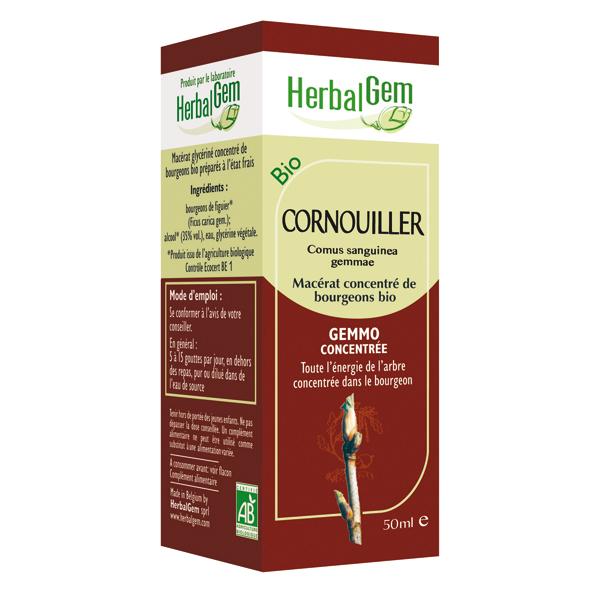 Cornouiller Bio - 50 ml - Herbalgem