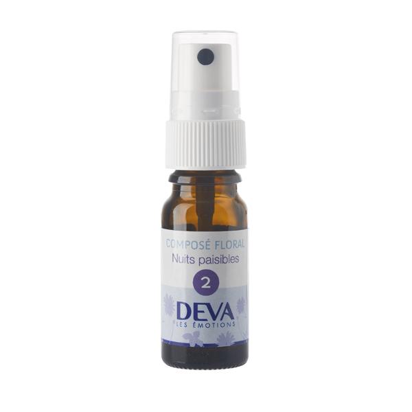 Spray Nuits paisibles bio - 10 ml - Deva