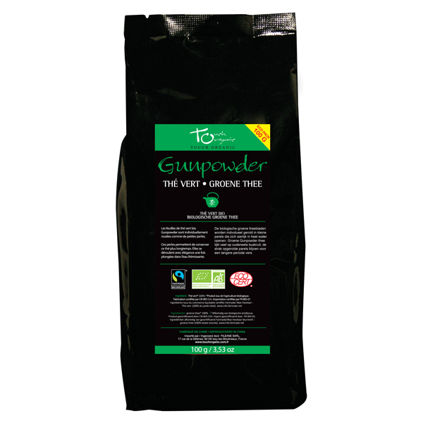 Thé vert Gunpowder bio en vrac Format Eco