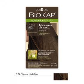 Coloration pour cheveux Nutricolor Delicato chatain miel clair 5.34