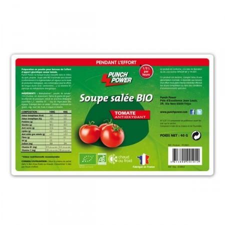Soupe salée tomate anti-oxydant